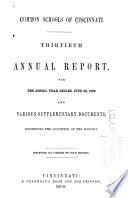Annual Report for the School Year Ending