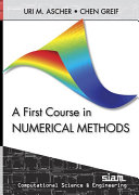 A First Course on Numerical Methods