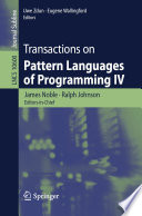Transactions on Pattern Languages of Programming IV