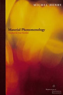 Material Phenomenology
