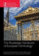 Pdf The Routledge Handbook of European Criminology Telecharger