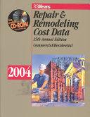 Repair   Remodeling Cost Data