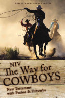 NIV, the Way for Cowboys New Testament with Psalms and Proverbs, Paperback