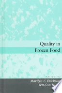 Quality In Frozen Food Book PDF