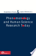 Phenomenology And Human Science Research Today