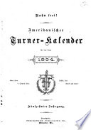 Amerikanischer Turner Kalender
