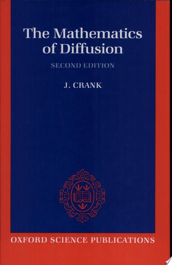 The Mathematics of Diffusion