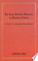 The Legal Property Relations of Married Parties