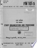 Staff Officers  Field Manual