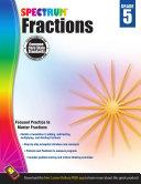 Fractions Workbook  Grade 5