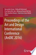 Proceedings of the Art and Design International Conference  AnDIC 2016  Book