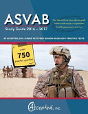 ASVAB Study Guide 2016 2017 by Accepted  Inc   ASVAB Test Prep Review Book with Practice Tests