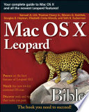 Mac Os X Leopard Bible Book PDF