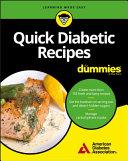 Quick Diabetic Recipes For Dummies Pdf/ePub eBook