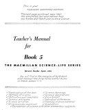 The Macmillan Science life Series