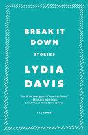Break It Down Pdf/ePub eBook