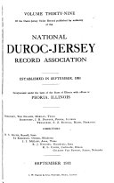 Duroc-Jersey swine record