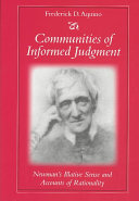 Communities of Informed Judgment