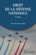 Droit de la défense nationale [Pdf/ePub] eBook
