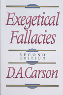 Exegetical Fallacies Book Cover