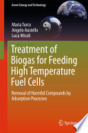 Treatment of Biogas for Feeding High Temperature Fuel Cells