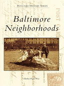 Pdf Baltimore Neighborhoods