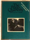 The Piano Quarterly Book PDF