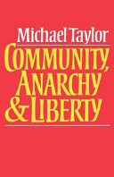 Community  Anarchy and Liberty