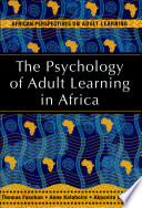 The Psychology of Adult Learning in Africa  , Pág. 974