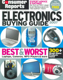 Consumer Reports Electronics Buying Guide 2007