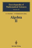 Algebra II: noncommutative rings, identities - Alekseĭ