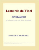 Leonardo Da Vinci : the Complete Paintings and Drawings