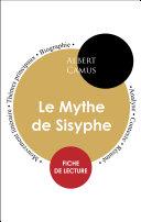 Pdf Fiche de lecture Le Mythe de Sisyphe (Étude intégrale) Telecharger