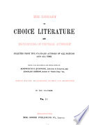Library of Choice Literature and Encyclopaedia of Universal Authorship