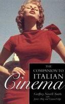 The Companion to Italian Cinema