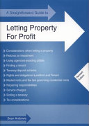 A Straightforward Guide to Letting Property for Profit