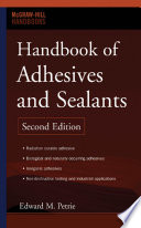 Handbook Of Adhesives And Sealants Book PDF