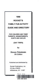 1998 Rocket s Family Fun Activity Guide and Directory