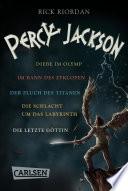 Percy Jackson: Band 1-5 der spannenden Abenteuer-Serie in einer E-Box! (Percy Jackson)