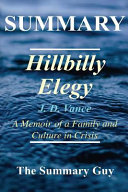 Summary   Hillbilly Elegy Book PDF