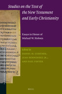 Studies on the Text of the New Testament and Early ...