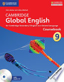 Cambridge Global English Coursebook Stage 9 Coursebook With Audio Cd