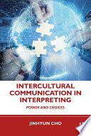 Intercultural Communication in Interpreting