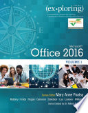 Exploring Microsoft Office 2016  , Band 1