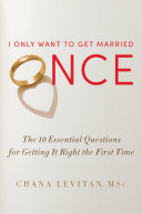 I Only Want to Get Married Once Book