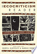 The Ecocriticism Reader Book