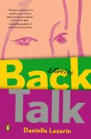 Back Talk [Pdf/ePub] eBook