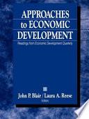 Approaches to Economic Development