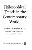 Philosophical Trends in the Contemporary World