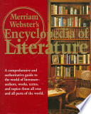 Merriam Webster s Encyclopedia of Literature Book